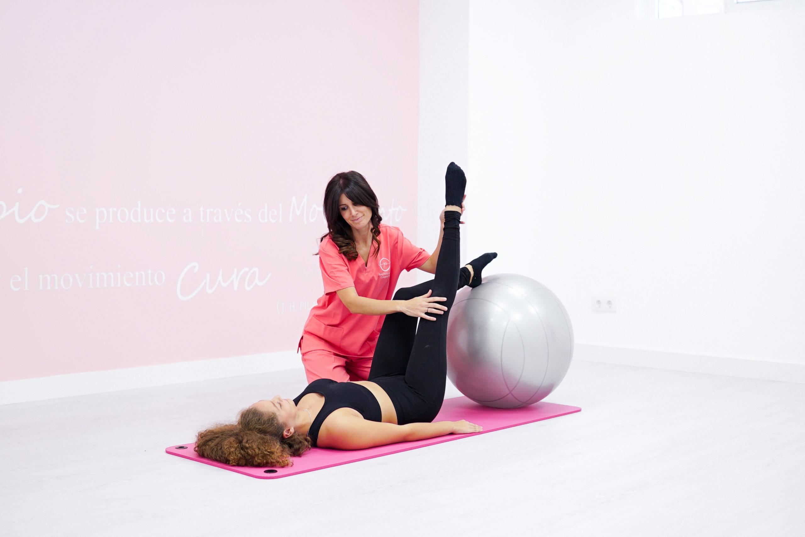 Pilates terapéutico respiració