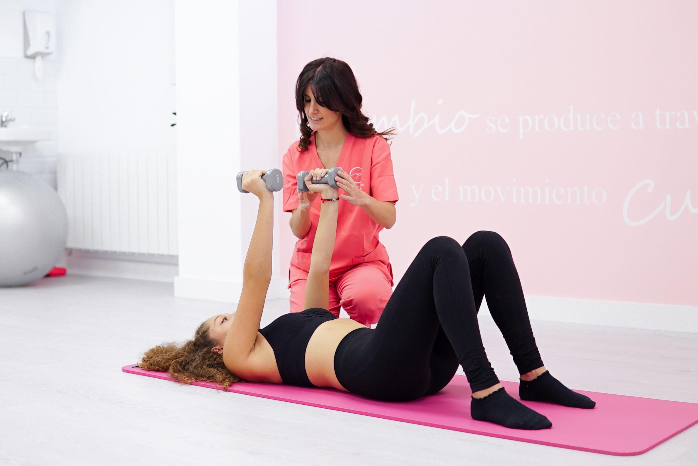 Pilates terapeutico sesiones