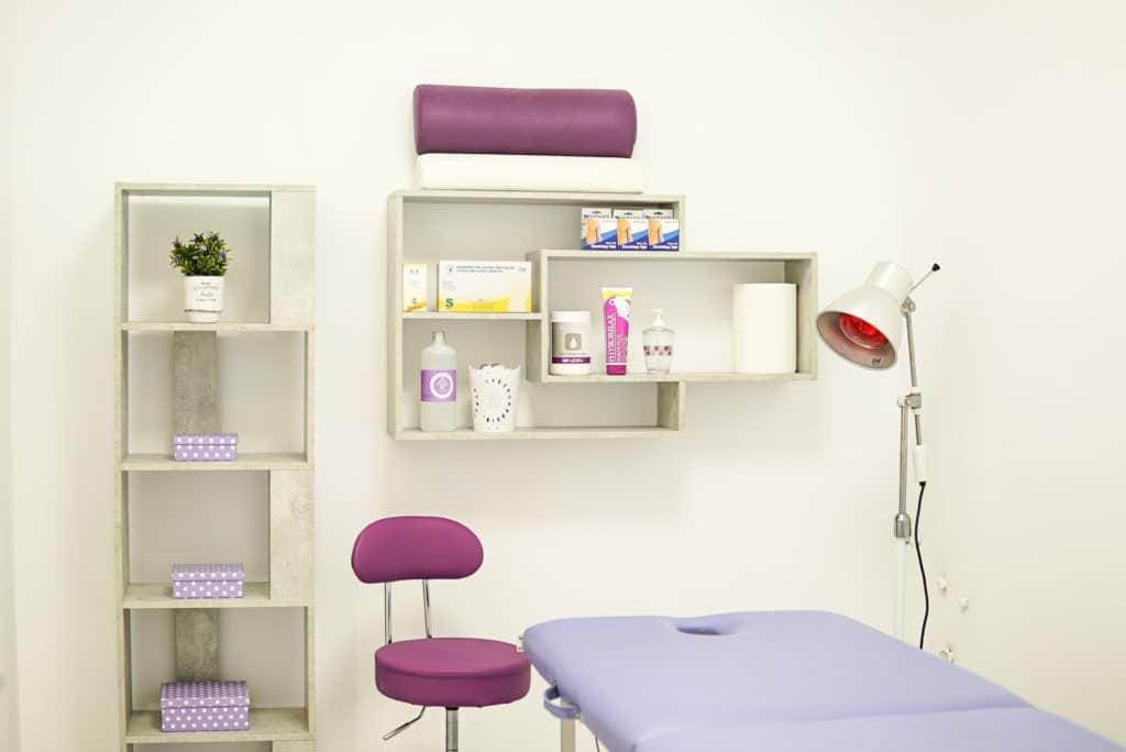 Box 1 para tratamientos de rehabilitación