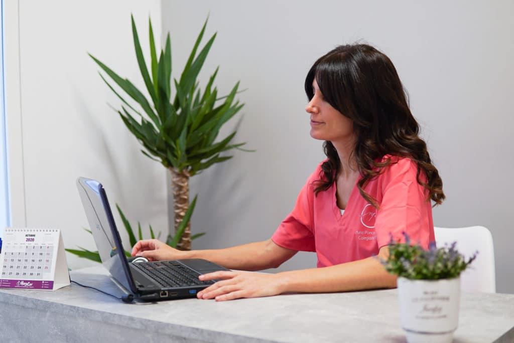 Fisioterapeuta Nuria Ponce Ayllon