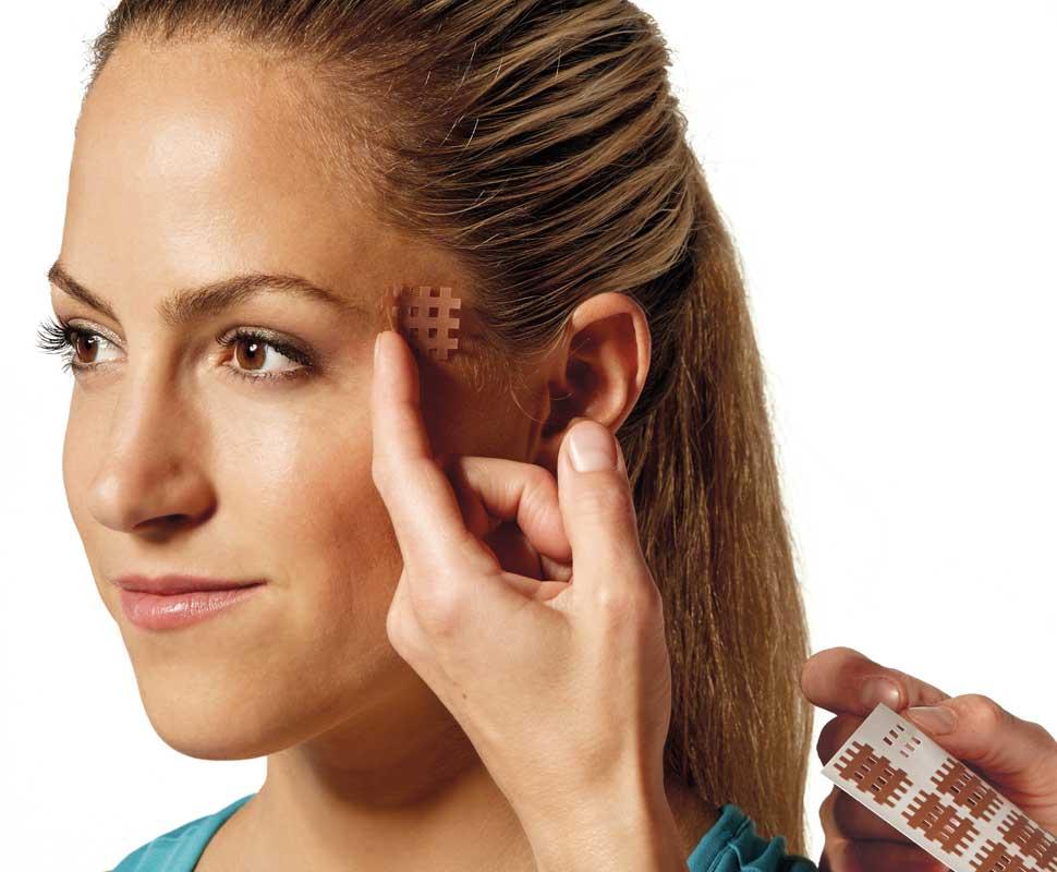 Spiral Tape para cefaleas