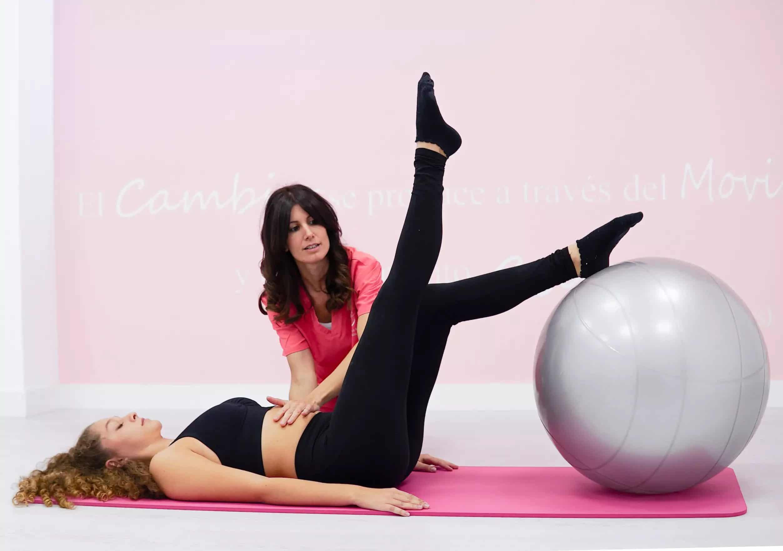Sesiones Individuales de pilates terapeutico